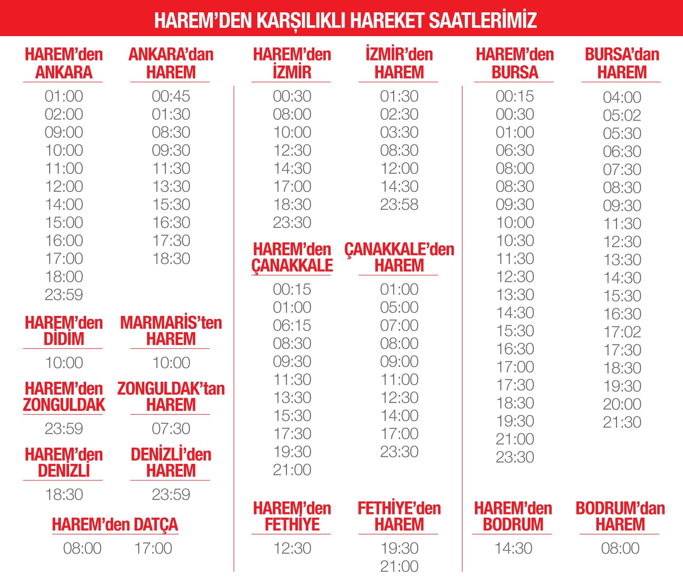 Harem - Pamukkale Turizm